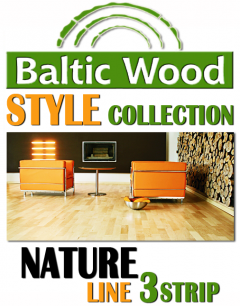 BalticWood - NATURE 3strip
